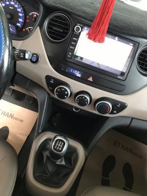 Bán Hyundai Grand i10 sedan 1.2MT màu xanh số...