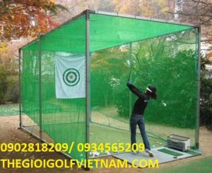 Bộ khung lưới 6m tập golf tại nhà