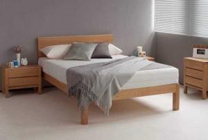Giường gỗ sồi 1m6 x 2m