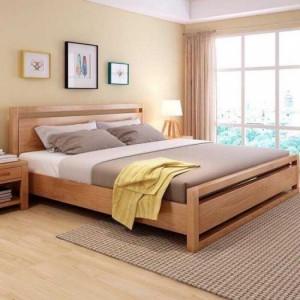 Bộ giường 2 tủ đầu giường - Bed with 2 side cabinets