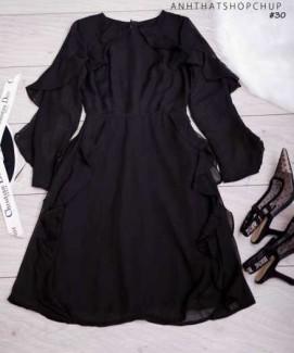 Đầm voan lá bèo