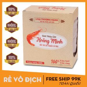 [500G] Bánh phồng tôm gia truyền Hoàng Minh - Đặc sản Cà Mau