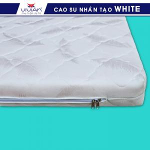 Nệm cao su nhân tạo VIVIAN WHITE BH-5N - 1m6x2mx10cm