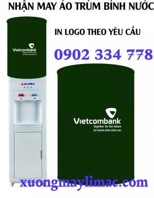 Xưởng may áo trùm bình nước Vietcombank