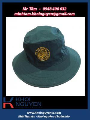 Xưởng may nón giá rẻ Khôi Nguyên, xuong non gia re, xưởng may thêu in nón học sinh