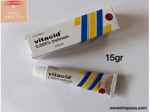 Kem Tretinoin 0.025% Retin A 0.025% Vitacid 0.025%