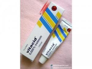 Kem Vitacid 0.025% Tretinoin 0.025% Retin A 0.025%