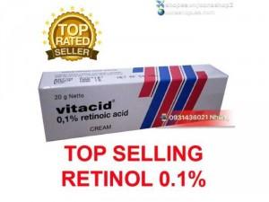 Kem Vitacid 0.1% Tretinoin 0.1% Retin A 0.1%