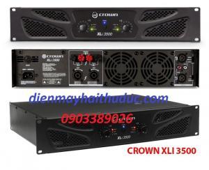 Cục đẩy Crown XLi-3500, chuyên sân khấu, công suất 1350W x 2 kênh