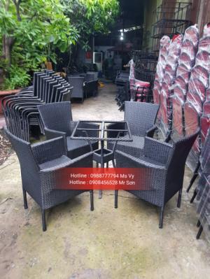 Bàn ghế cafe trực tiếp sản xuất