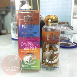 Viên Bôi Nhau Thai Cừu Sữa Ong Chúa Và Vitamin E, 100 Viên Nang (Canada).