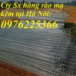 Hàng rào mạ kẽm, Lưới thép hàn