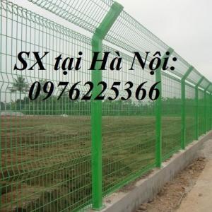 Hàng rào mạ kẽm Lưới thép hàn