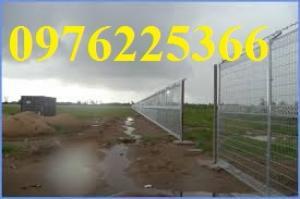 Lưới hàng rào sơn tĩnh điện.Hàng rào mạ kẽm