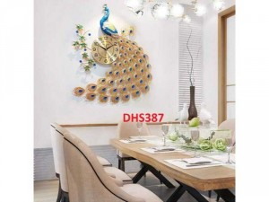 Đồng hồ Chim Công phú quý DHS387