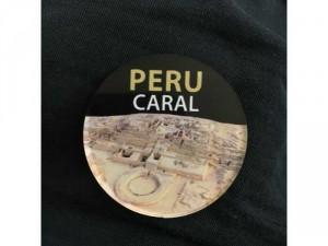 Huy hiệu Peru hình các công trình kiến trúc cổ Peru