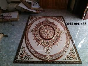 Gạch thảm trang trí phòng khách TL095