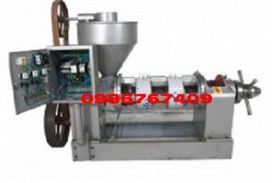 Máy ép dầu lạc công nghiệp 50kg/h nhập khẩu chính hãng YZYX90WK