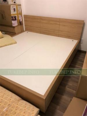 Giường ngủ gỗ công nghiệp chống ẩm