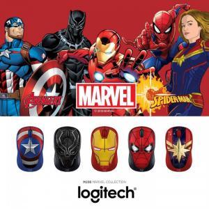 Mousekhông dâyLogitech M238Marvel chính hãng - Mẫu siêu nhân anh hùng