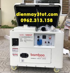 Máy phát điện 10kw chạy xăng chống ồn siêu tốt Bamboo 12000GP tiêu chuẩn Nhật Bản