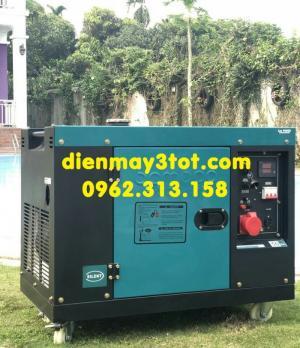 Máy phát điện chạy dầu 7kw Bamboo 8800 ET (6,5-7,5kw) chống ồn tiêu chuẩn Nhật bản