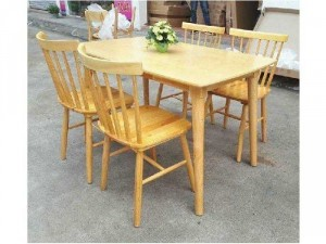 Bộ bàn ghế gỗ dành cho phòng khách phòng
