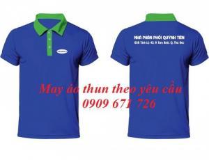 In áo thun nhanh, in áo thun theo yêu cầu tại quận tân bình