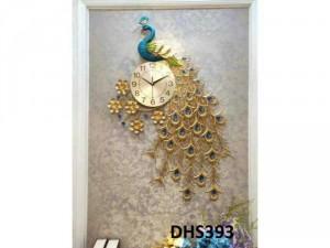 Đồng hồ Chim công phú quý DHS393