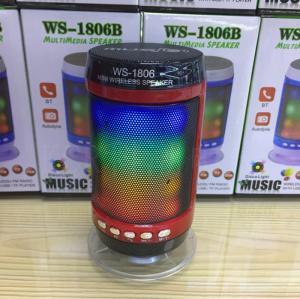Loa Bluetooth Multimedia Speaker WS-1806B Có Led Cao Cấp