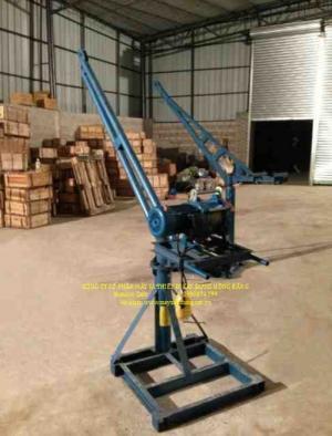 Bán tời cẩu xây dựng 500kg chạy điện 1 pha 220v