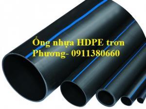 Ống nhựa HPDE trơn chất lượng cao, giá cả hợp lý