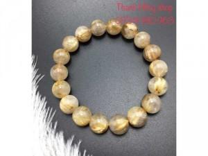Vòng tay thạch anh tóc vàng 0123