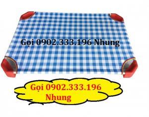 Bán giường ngủ mầm non kiêng giang giá rẻ