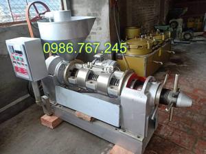 Máy ép dầu công nghiệp guangxin yzyx10j-2wk công suất 100kg/h