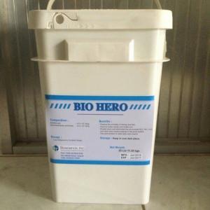 Men vi sinh hạt xử lý đáy ao Bio Hero