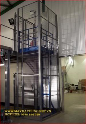 Thang nâng hàng 2000kg/2 tấn - Cty Hồng Đăng sản xuất