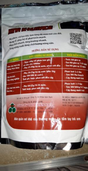 Phân bón lá hữu cơ sinh học