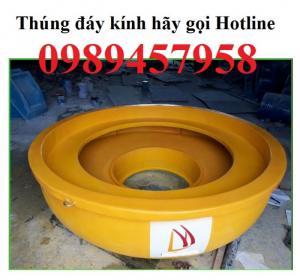 Thúng đáy kính giá rẻ tại Quảng Ninh