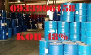 Bán potassium hydroxide KOH 48%