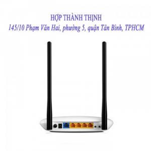 2019-04-24 11:13:55  1 Thiết bị phát wifi TP-Link WR841N - Hàng chính hãng Thiết bị phát wifi TP-Link WR841N - Hàng chính hãng 285,000