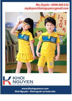 Xưởng may đồng phục mầm non, đồng phục mẫu giáo, đẹp, giá rẻ, uy tín, chất lượng