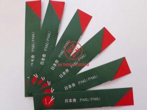 In bao đũa, in túi đũa giấy thân thiện môi trường