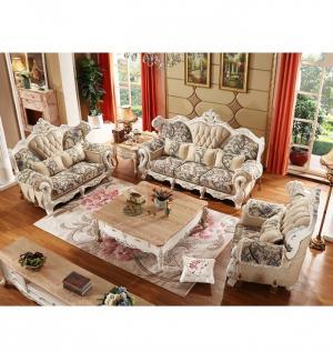 Sofa tân cổ điển giá rẻ q2 q7 - xưởng bán bàn ghế cổ điển phong cách châu âu