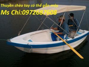 Cung cấp thuyền chèo tay Composite chở 3 - 6 người