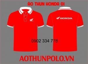 Xưởng may áo thun Honda cotton 100%