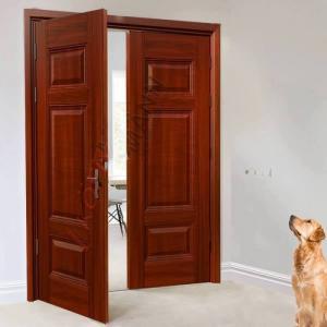 Cấu tạo chi tiết cửa thép vân gỗ 2 cánh 27.4