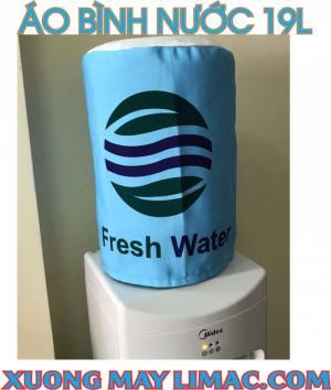 cung cấp bao trùm bình nước màu xanh da trời fresh water