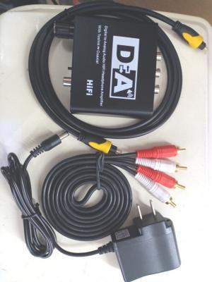 Bộ chuyền Optical ra Audio OEM có nút điều chỉnh volume