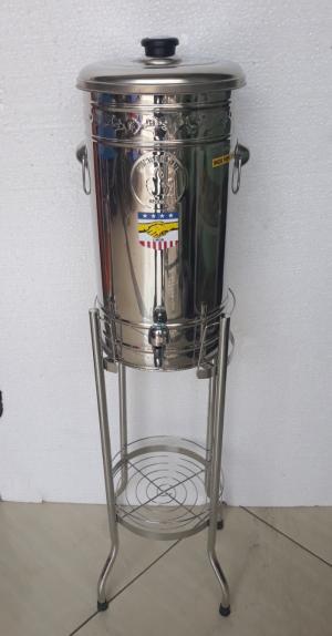 Bình Lọc Nước Inox 304 - Loại 20L Có Chân - Bl20L3C